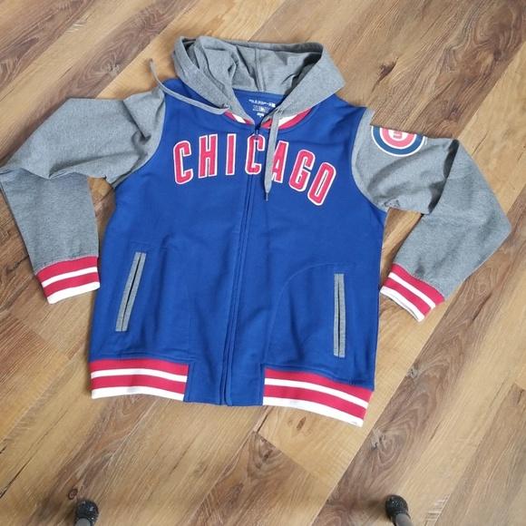 5th   Ocean Tops - Women s Chicago Cubs Full- Zip Hoodie 400b671d8c